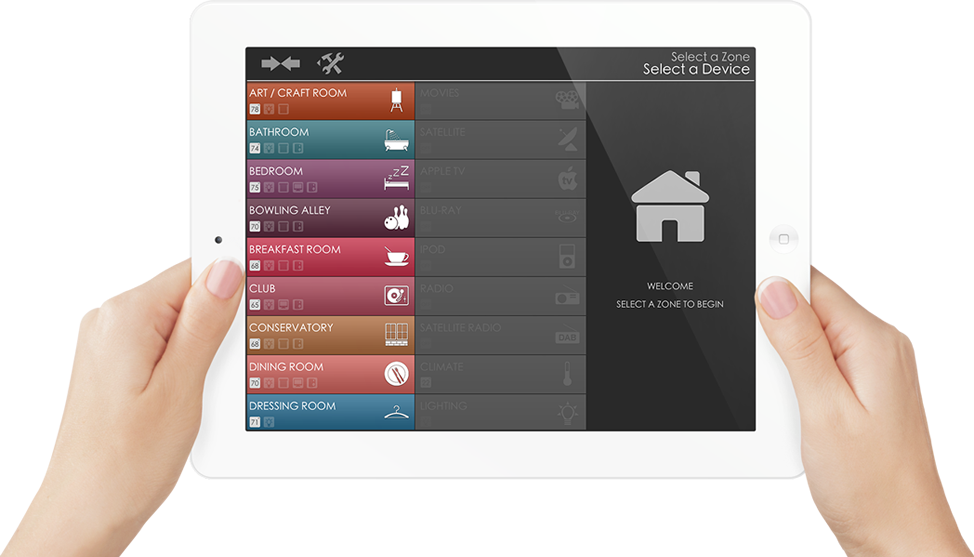 User Experience Slide Ipad Home Crestron