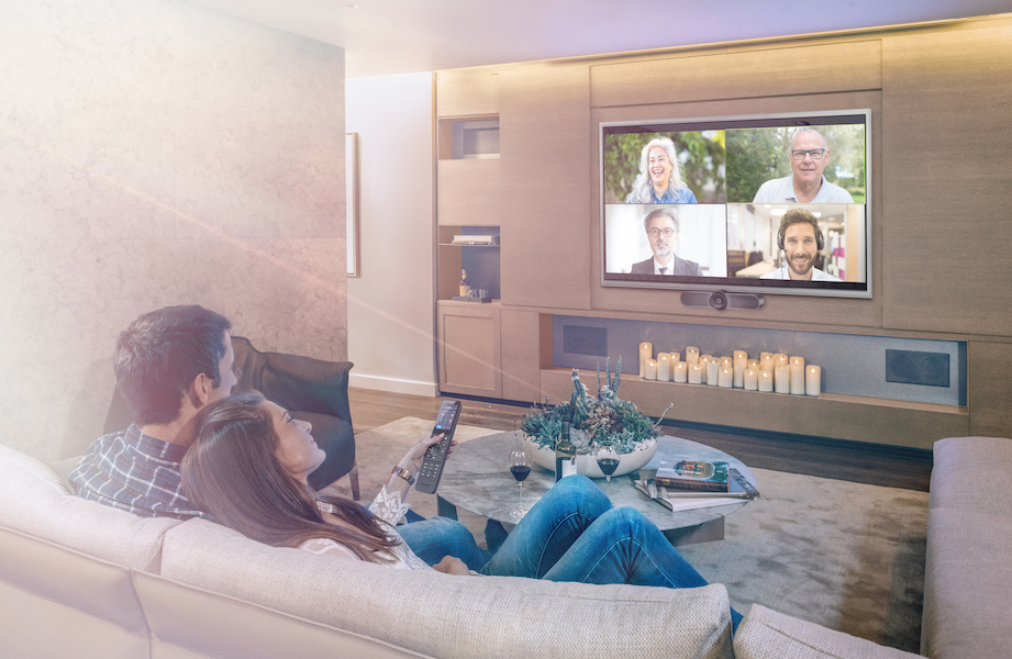 Crestron HomeTime: Video Conferencing for the Smart Home