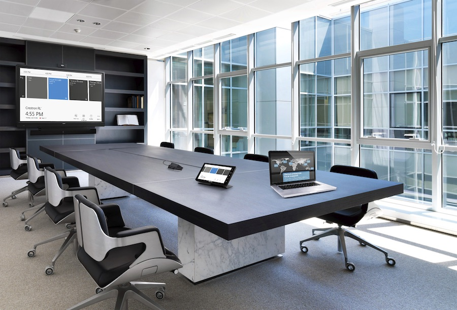 Make Your Organization More Productive with Crestron Automation