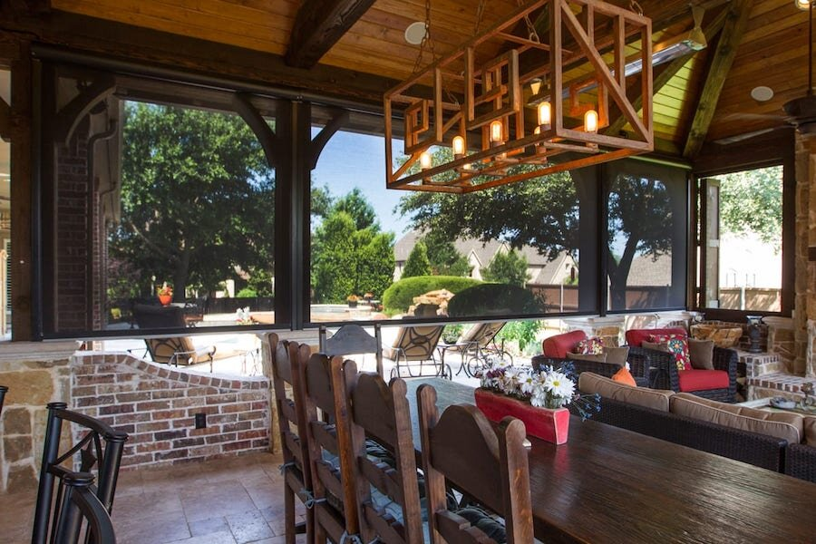 Create an Outdoor Oasis with Motorized Outdoor Shades