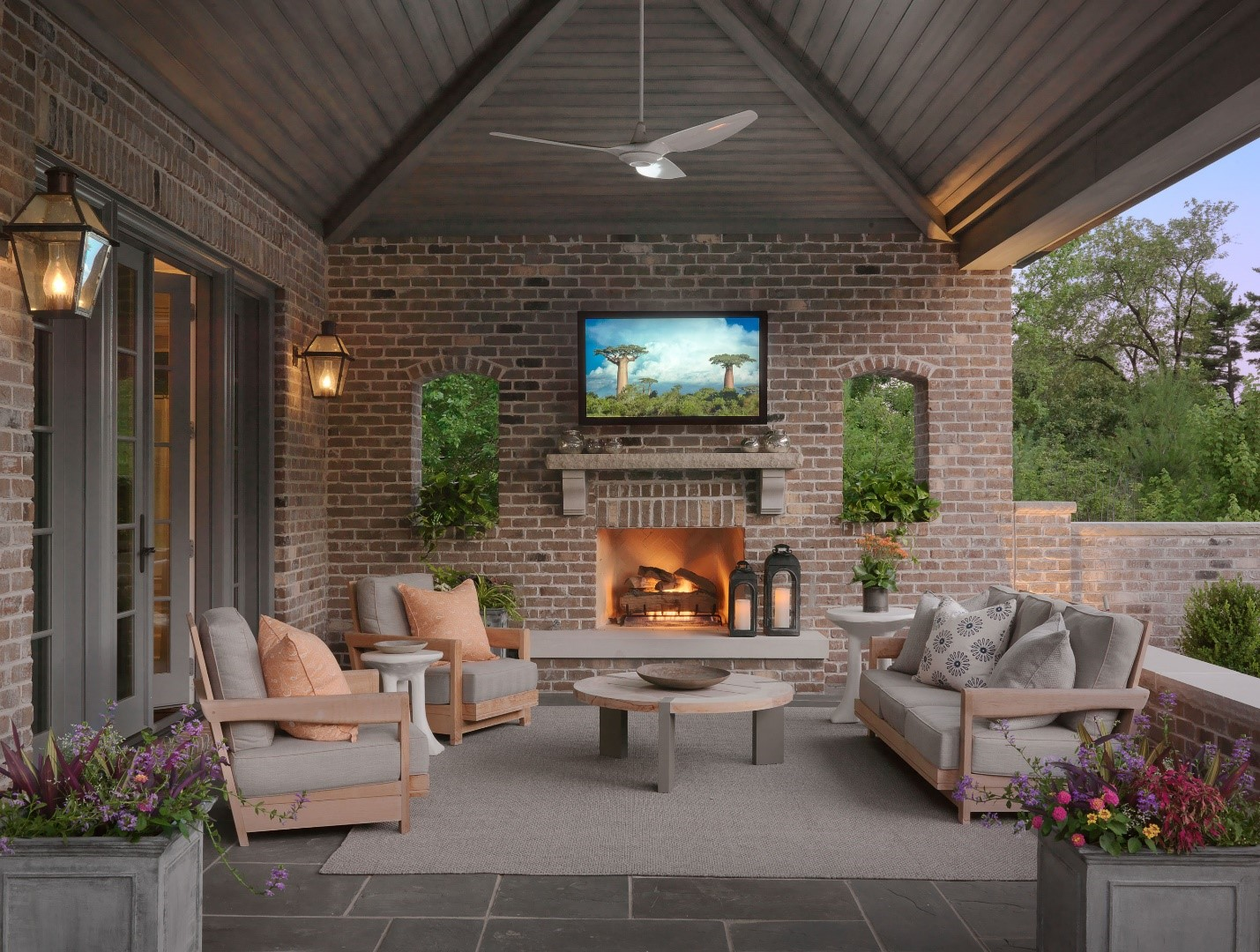 Shake Up Your Social Distancing Experience With an Outdoor TV