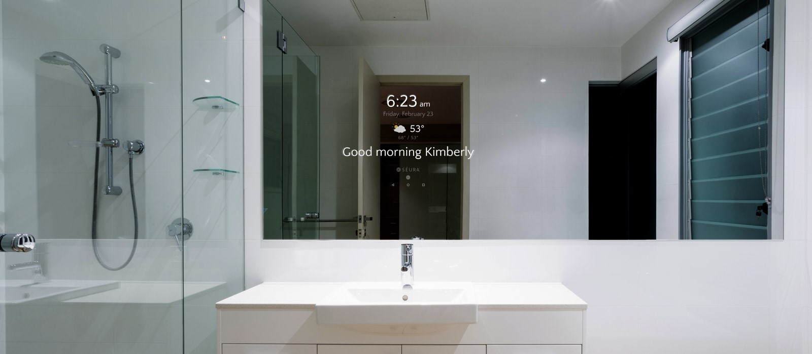 Why You Should Add a Séura Smart Mirror to Your Bathroom