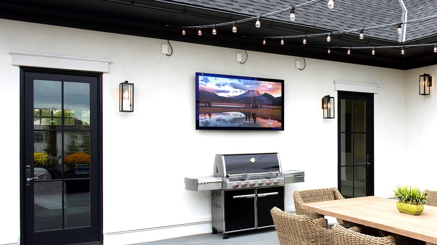 Here's What to Consider Before Installing a TV Outdoors