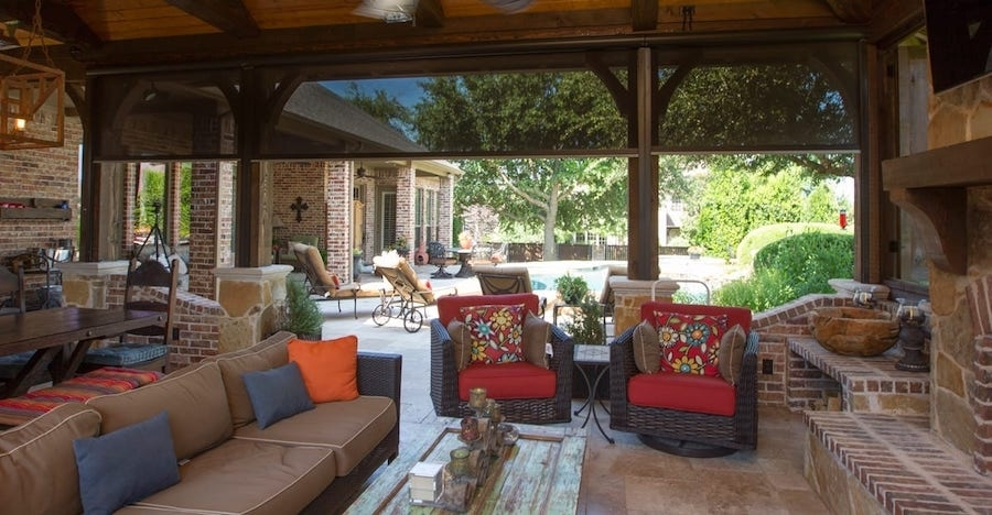 Make the Most of the Seasons with Motorized Outdoor Shades