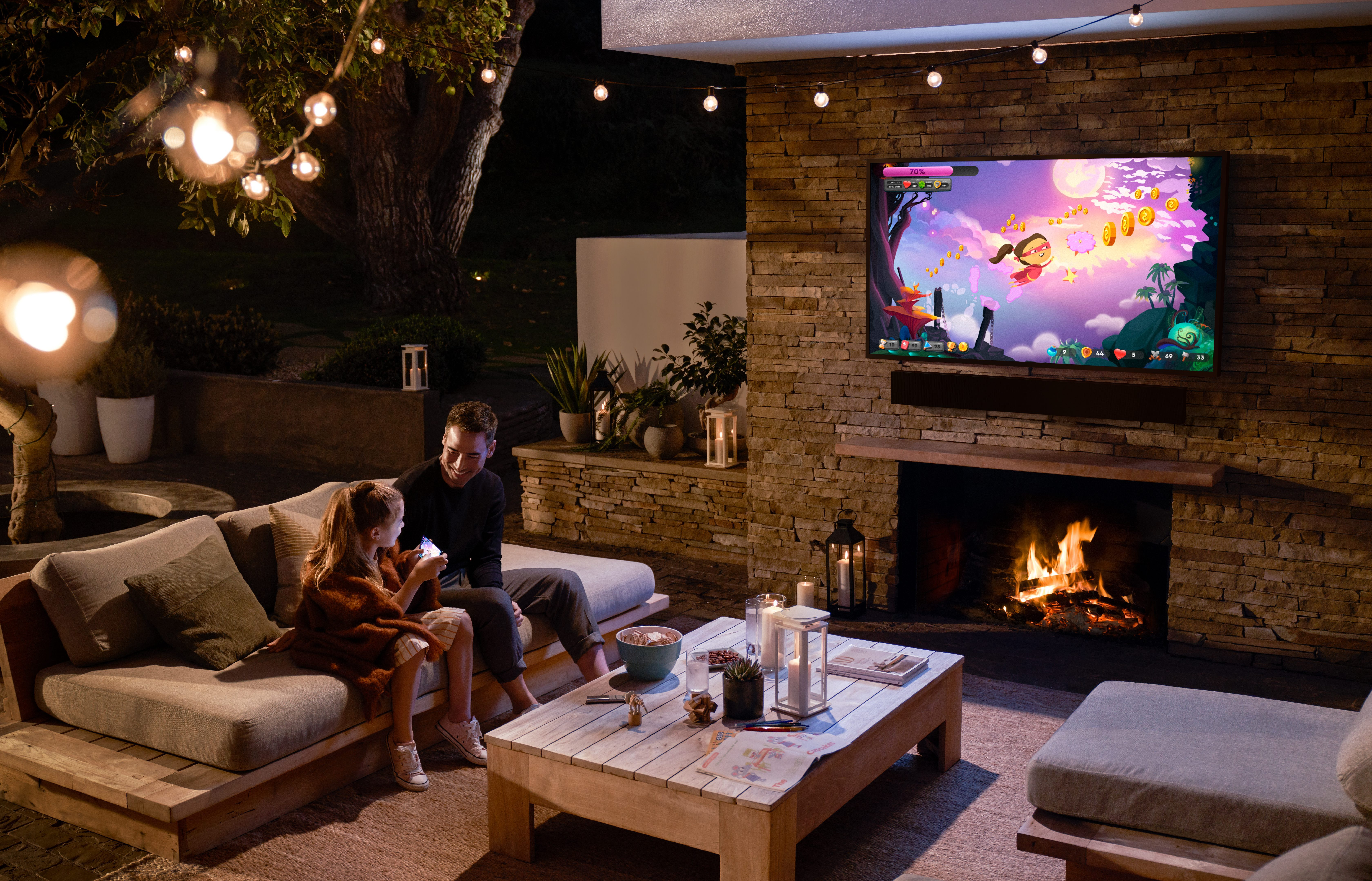 Shade or Sun, There's a Perfect Outdoor TV for Your Space